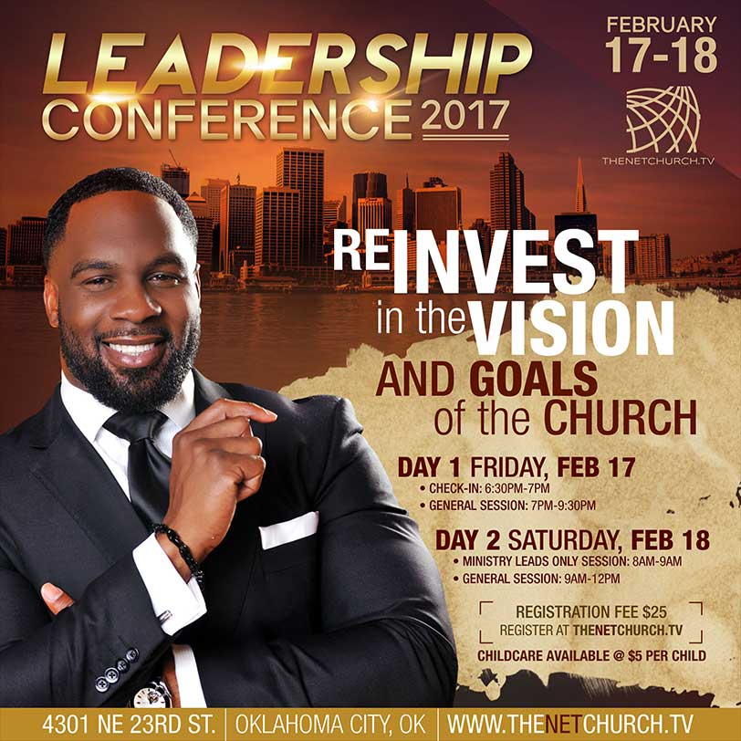 leadership conference flyer emh graphics